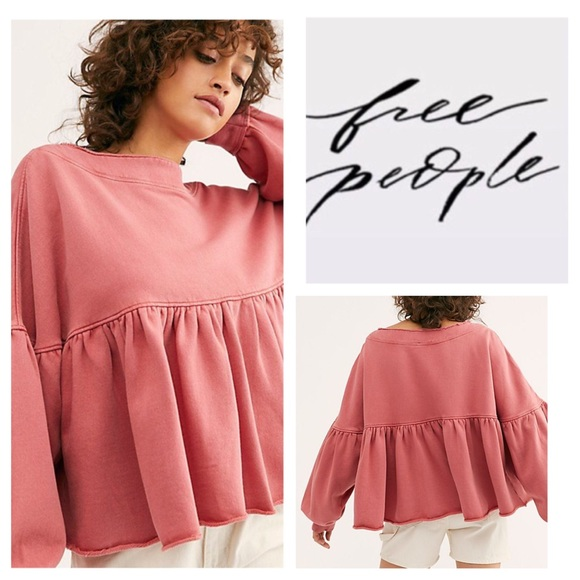 Free People Lucy Pullover.  NWT.